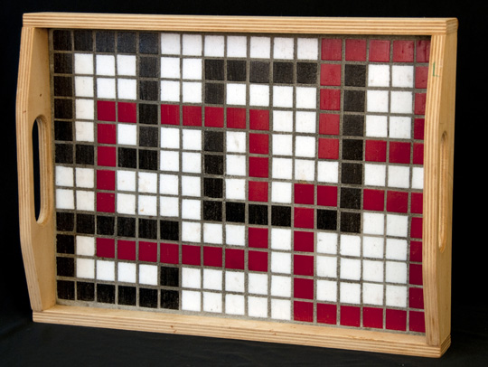 Introduction To Mosaic Serving Tray Finished Work I